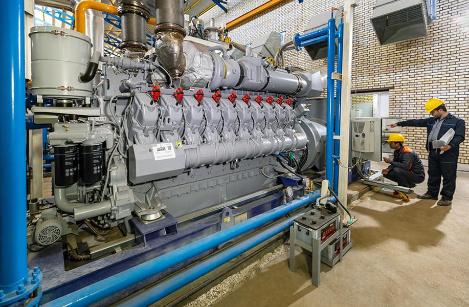 موتور ژنراتور گاز سوز